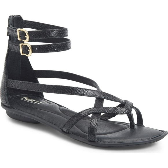 2c1c76ffd161 Born Womens Mai Gladiator Sandal Leather 10